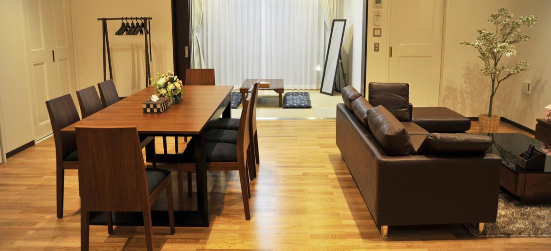 小さな森の家 野田山崎 親族控室リビング01