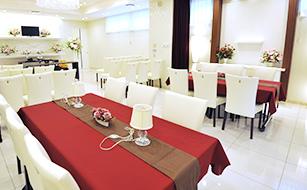 野田市の葬儀場、会席会場の写真