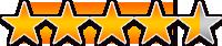 お客様アンケート評価:星★4.5